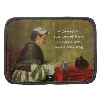 El bebedor 1735 del té planificador
