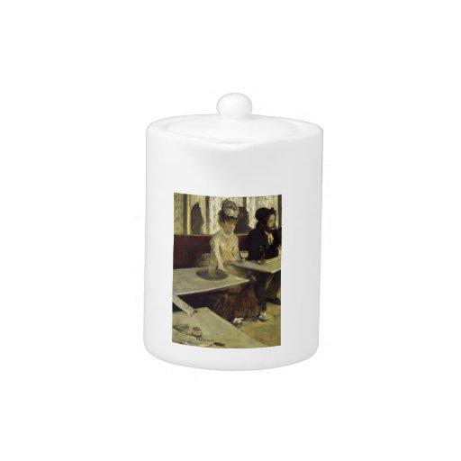 El bebedor o el L'Absinthe del ajenjo de Edgar Deg