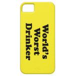 El bebedor peor del mundo iPhone 5 Case-Mate coberturas