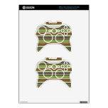 el BEIGE VERDE de stripes69 BROWN RAYA LOS COLORES Mando Xbox 360 Skins