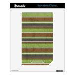 el BEIGE VERDE de stripes69 BROWN RAYA LOS COLORES Calcomanías Para NOOK Color