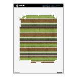 el BEIGE VERDE de stripes69 BROWN RAYA LOS COLORES iPad 3 Skins