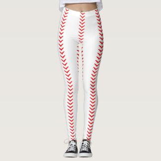 El béisbol cose las polainas (de las costuras) leggings