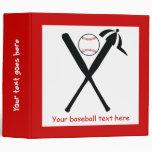 El béisbol cruzó palos y el negro del casquillo,