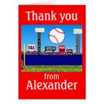 El béisbol de 2012 muchachos personalizado le tarjeta pequeña