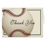 El béisbol del vintage le agradece felicitacion