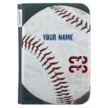 El béisbol diseñado vintage enciende la caja
