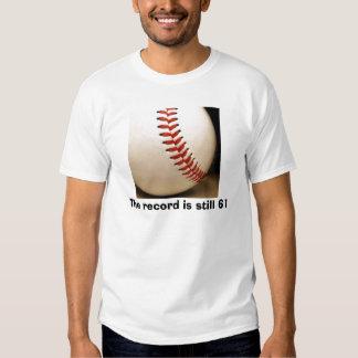 el béisbol, el expediente sigue siendo 61 polera
