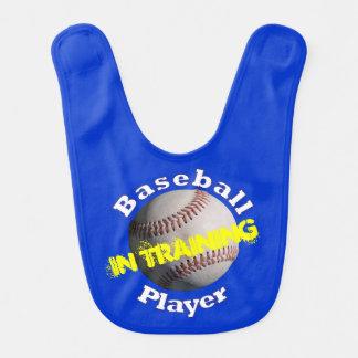 El béisbol embroma al jugador en el entrenamiento baberos