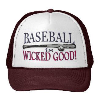 El béisbol es buen gorra travieso