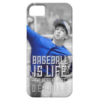El béisbol es caja del teléfono de la vida funda para iPhone SE/5/5s
