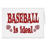 El béisbol es ideal felicitacion