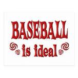 El béisbol es ideal tarjeta postal