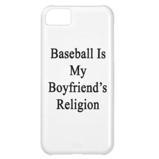 El béisbol es la religión de mi novio funda para iPhone 5C