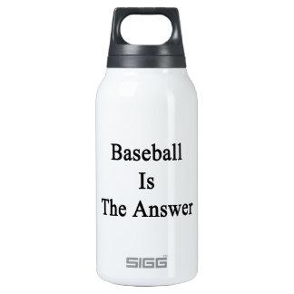 El béisbol es la respuesta