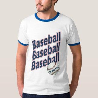 El béisbol es mi camiseta de la vida playeras