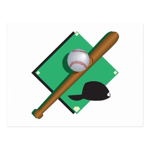 El béisbol es mi corazón tarjeta postal