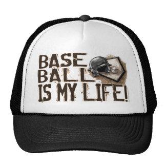 ¡El béisbol es mi vida! Gorra