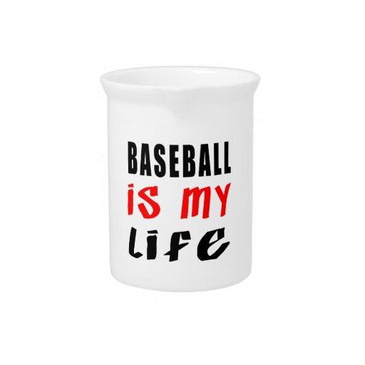 El béisbol es mi vida jarra