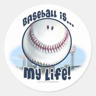 El béisbol es… mi vida Pegatina