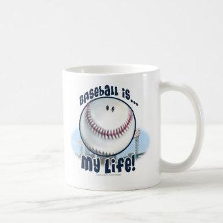 El béisbol es… mi vida. Taza
