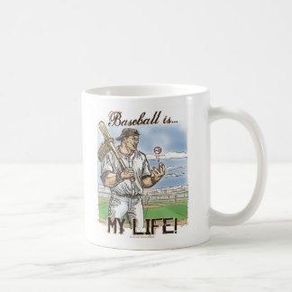 ¡El béisbol es mi vida! Taza