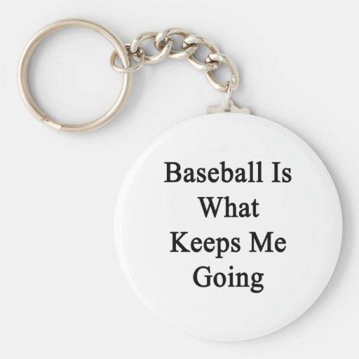 El béisbol es qué me guarda el ir llaveros personalizados