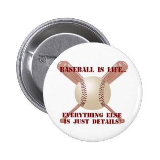 El béisbol es vida… pin