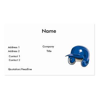 el béisbol estropea el azul del casco