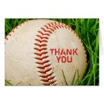 El béisbol le agradece cardar felicitación