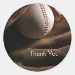 El béisbol le agradece los pegatinas