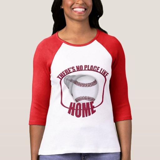 El béisbol ningún lugar tiene gusto del raglán camisas