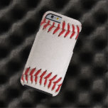 El béisbol se divierte el caso del iPhone 6 Funda De iPhone 6 Tough