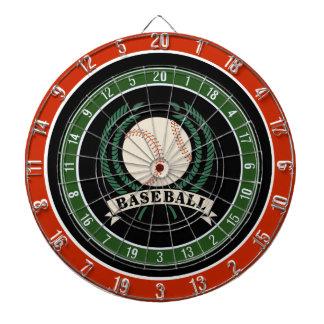 El béisbol se divierte el tablero de dardo