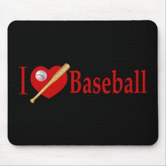 El béisbol se divierte los regalos del amante alfombrillas de ratones