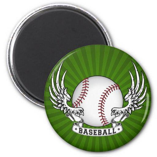 El béisbol se va volando el imán