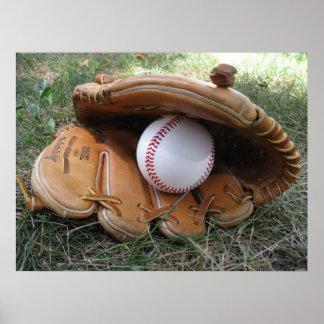 El béisbol soña la foto poster