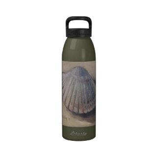 El berberecho Shell vara el Seashell Botella De Agua