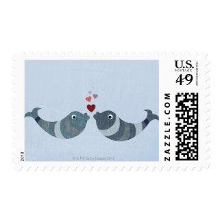 El besarse de los pescados franqueo