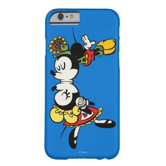 El besarse de Mickey y de Minnie Funda De iPhone 6 Barely There