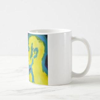 El besarse eléctrico taza de café