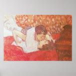 El beso, 1893 poster