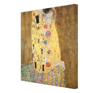 El beso, 1907-08 impresion en lona
