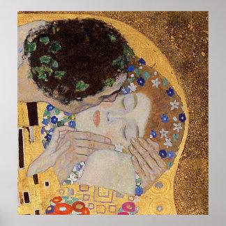 El beso, 1907-08 posters