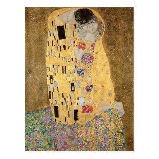 El beso 1907-08 postales