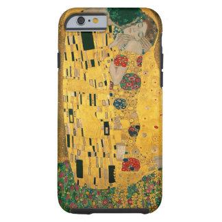 El beso (amantes) por Gustavo Klimt GalleryHD Funda Para iPhone 6 Tough