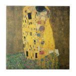 El beso azulejos
