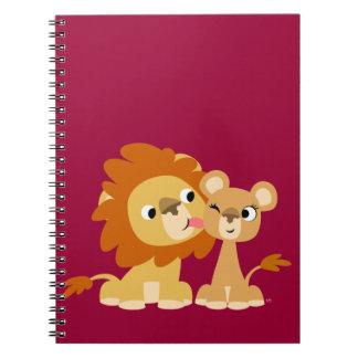 El beso: Cuaderno lindo de los pares del león del