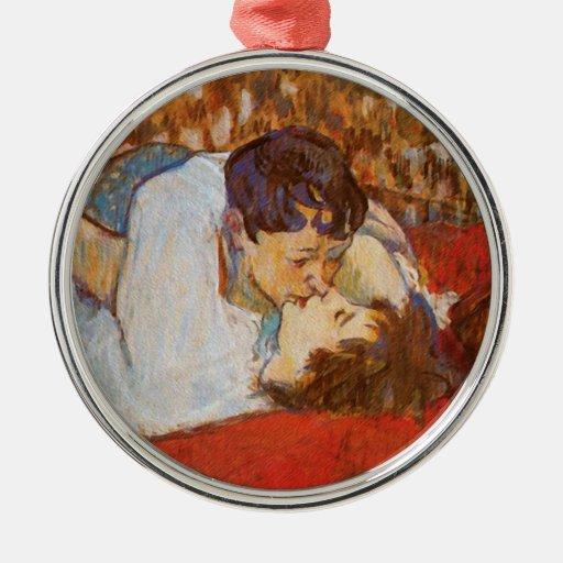El beso de Enrique de Toulouse-Lautrec Adorno Para Reyes