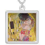El beso de Gustavo Klimt, arte Nouveau del vintage Grimpola